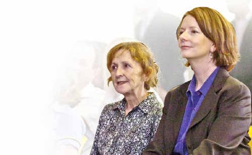Page MP Janelle Saffin and newly-appointed Prime Minister Julia Gillard pictured on the North Coast earlier this year.