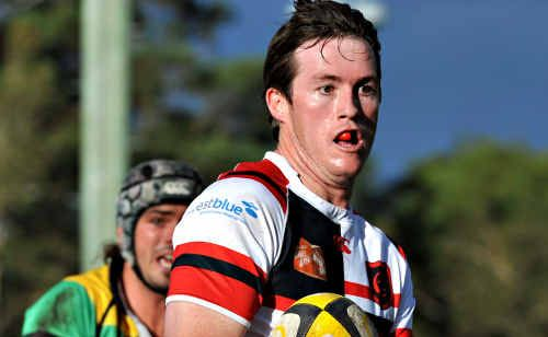 Dylan Hurley was named at inside centre in Coffs Rugby's team of the decade (2000-2009).