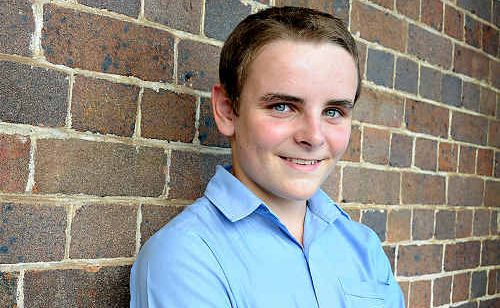 Patrick Connolly will compete in the junior category of the 35th annual Rostrum Voice of Youth state final today in Brisbane.