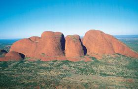 Uluru / Kata Tjuta Region - Kata Tjuta / The Olgas aerial