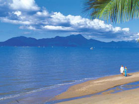 Hinchinbrook Island, one of 1000 islands within the Great Barrier Reef.