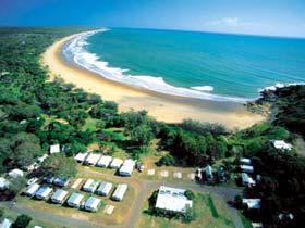 Workmans Beach camp ground closed for maintenance