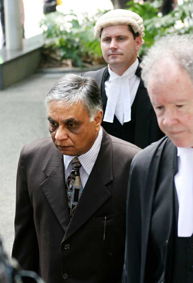 Former Bundaberg surgeon Jayant Patel