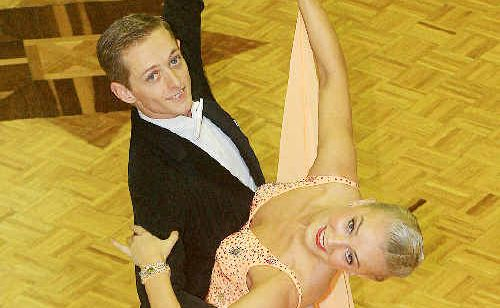 Rhett Salmon and Kristie Simmonds find ballroom dancing as much a mental workout as a physical one.
