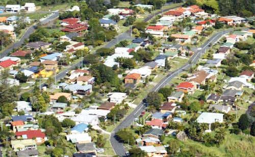 Urban sprawl?: Housing growth in Banora Point East is accommodating an increased population including many retirees.