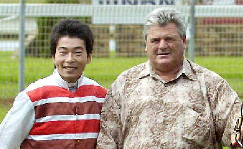 Motoki Okada and Danny Bowen.