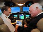 New plane, simulator for school