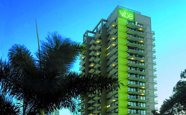 Vibe Hotel on the Gold Coast.