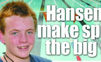 Chris Hansen is leaving Gladstone for St Peters Western Swimming Club to further his swimming career.