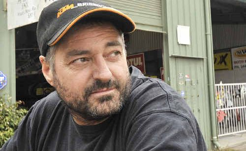 Bill Nolan from Yandina Motorcycles is being forced out of the Kirby Industrial Estate.
