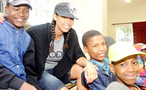 Chantelle Tagoe was moved to start a charity after seeing firsthand the plight of disadvantaged South African children.