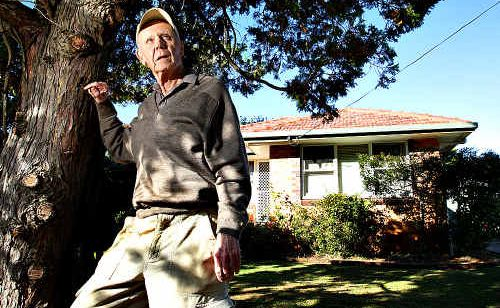 Buderim resident Alistair Goldin worries Neighbourhood Watch will collapse.