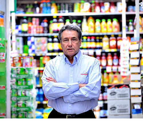 Supermarket owner Mel Luke has changed the way he deals with electricity suppliers.