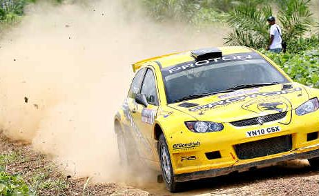 Chris Atkinson, formerly a member of the Subaru World Rally Team, will contest the International Rally of Queensland.