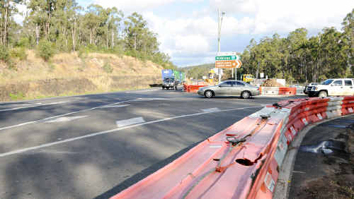 Motorists can expect changed traffic conditions while the intersection near Bell's Bridge is upgraded.