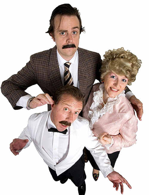 See the 'Faulty Towers the Dining Experience' at the Muster this year.