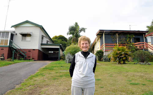 Fay Connell prepares to say farewell to those lawns she's been mowing