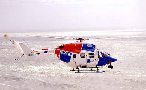 AGL rescue helicopter.