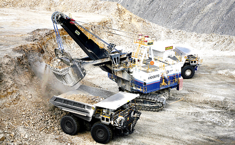 Anglo American's Dawson mine operations