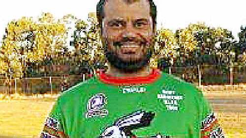 HOW COULD IT HAPPEN?: Bluff Rabbitohs lock Lenny Comollatti, recovering in hospital, has been described as a quiet family man who loves his children. cont