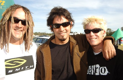 Ryan Browne, Khan  Harrison and Chris Neideck of the band Sub version.