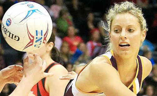 Laura Geitz could make the Australian Diamonds squad next week.