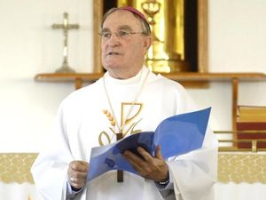 Claims bishop's book removed from Catholic shop