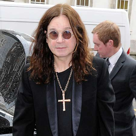 Ozzy Osbourne would like to make an unusual cameo appearance in a film about his life.