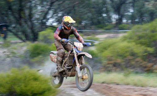 Byron Bay's Tom McCormack scored another top 10 result during the Australian Off Road Championships at the weekend.