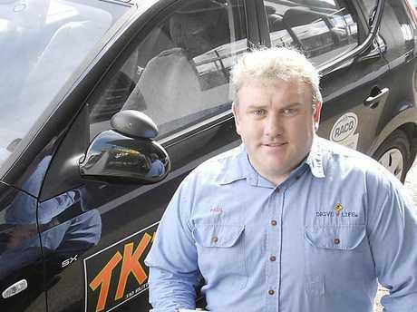 TK'S Driving School driver trainer Paul Kennedy