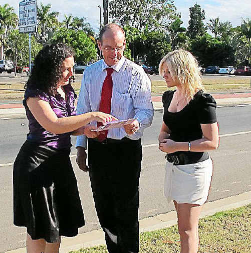 Joe Ludwig and Belinda McNeven discuss voting with Zoe Marett.
