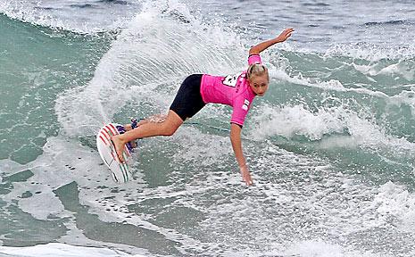 Kirsten Ogden, 2010 Gromfest winner.