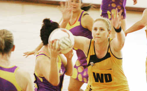 ONE WIN AWAY: Capricorn Claws captain and former Blackwater netballer Kahlee Saunders hopes to take her team all the way in the Queensland Tier 2 State competition. cont