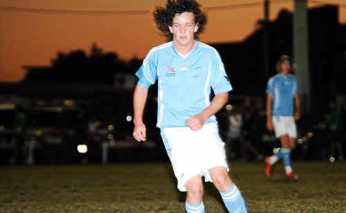 Spirit Youth player Aaron Mackie is a key player.