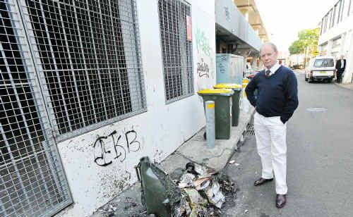 Andrew Fraser is frustrated by the continuing vandalism attacks in our city.