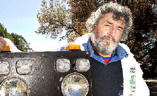 Drag racing organiser Roger Wood is waiting on approval of a DA to use the Evans Head Memorial Aerodrome.