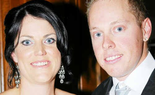 Vicki Foster and Andrew Schultz at the 2010 Police Charity Ball at the Grand, Saturday Night.