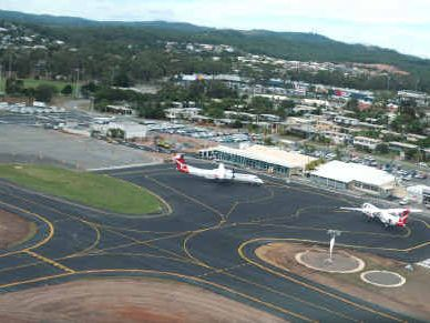 SHARING IS CARING: Rockhampton passengers will be flying out of Gladstone airport.
