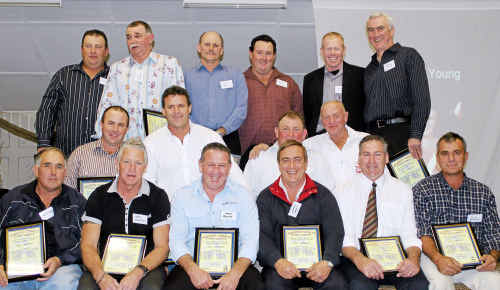 The Cowboys team of the 1980s (back, from left) Tony Watson, Simon Beattie, Rob Beattie, Tony Small, George McVeigh, Brian Dunne, (middle) Fraser Young, David Abood, Rod Neal, Ray Bowman, (front) Rod Wilton, Brad Rushton, Mark Browne, Warren Croft, Noel Loudon and Nick Brennan. Luke Brennan is also in team.