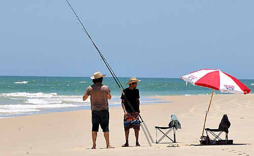 The 2010 Mitsubishi Motors Rainbow Beach Family Fishing Classic, starting on Friday, is going to be huge this year.