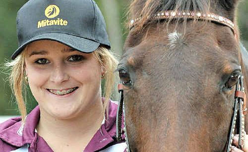 Teleeka Adams is looking forward to the National Prince Philip Mounted Games Championships this weekend.
