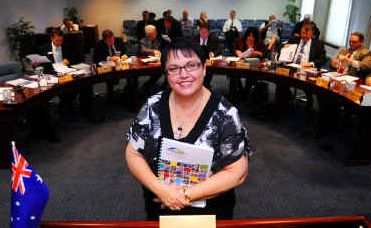 Bundaberg Mayor Cr Lorraine Pyefinch.