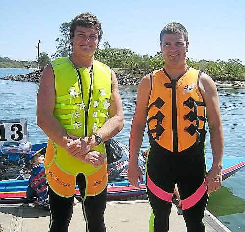 Travis Patterson and Kody Barrett.