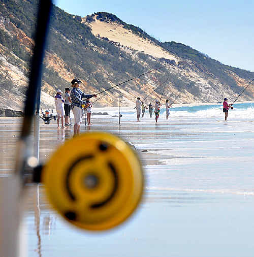 Uncertainty in the fishing industry has the Rainbow Beach Fishing Classic organisers worried.