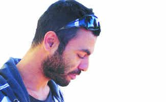 Zohar Kohavi: Caught in a police raid at Lennox Head.