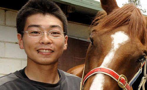 Emerging talent: Jockey Motoki Okada, who is starting to show his ability.