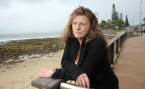 Justine's mother, Kathleen Jones, missed the memorial because of a flight mix-up in New South Wales.