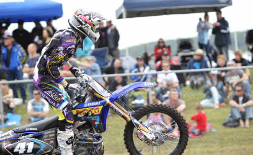 Ford Dale is in superb form for Serco Yamaha at the Rockstar MX Nationals.