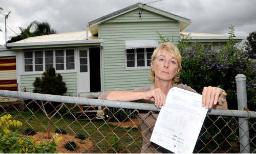 Imbil resident Janine Wilson said she shouldn't have to pay as much in rates as someone living in Gympie or Nambour as there were less facilities in town.
