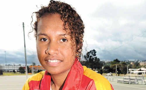 Cheryl Renagi from Lismore will travel to India in October to compete in the Commonwealth Games as a member of the Papua New Guinea netball team.